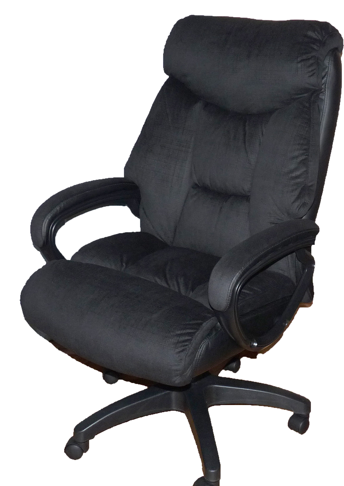 who invented the swivel chair