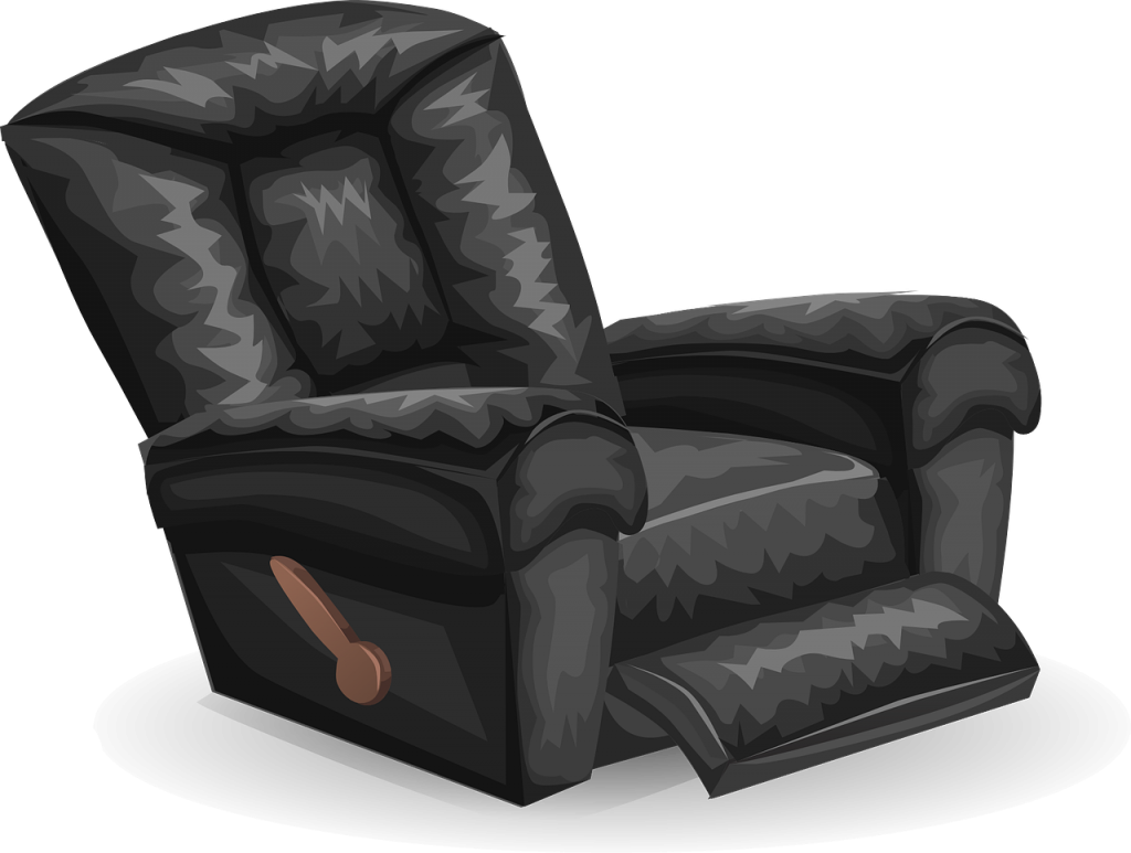 how to take apart a recliner